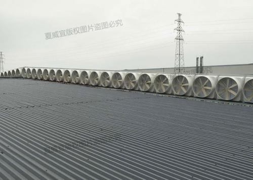 负压风机:屋顶气楼搭建方式通风