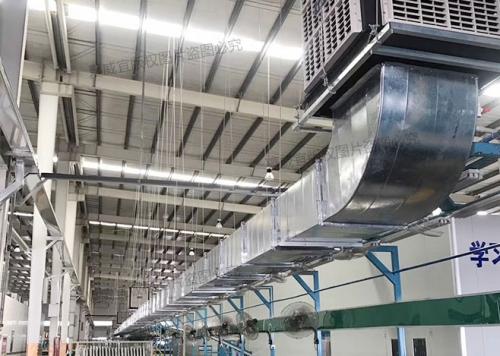 环保空调:生产流水线岗位降温