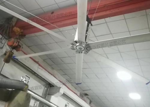 工业大吊扇:小型加工厂通风