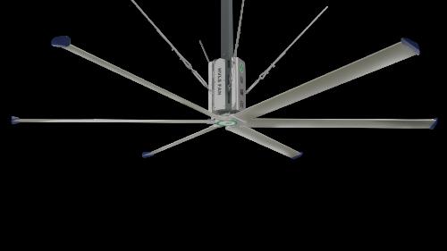 大型工业吊扇可跟哪些设备进行搭配使用